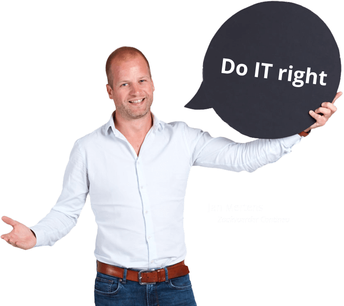 Do IT right - Jan Mertens, Zaakvoerder Contineo